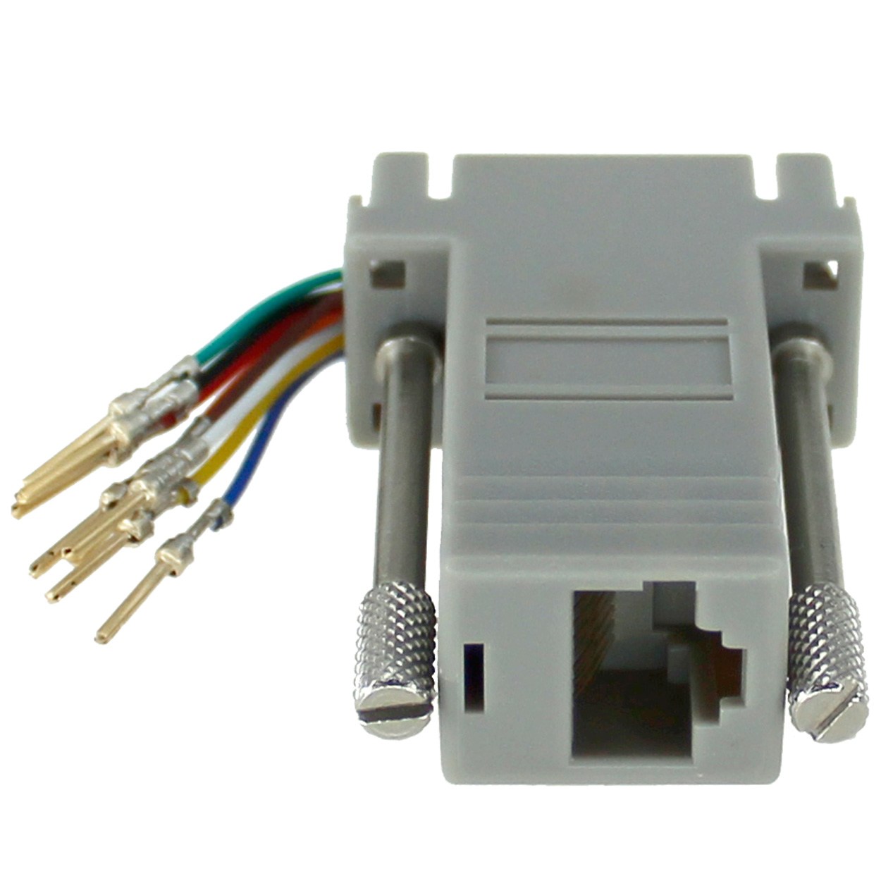 Rj45 To Db9 Male Modular Adapter Grey Pi Manufacturing Connector Wiring