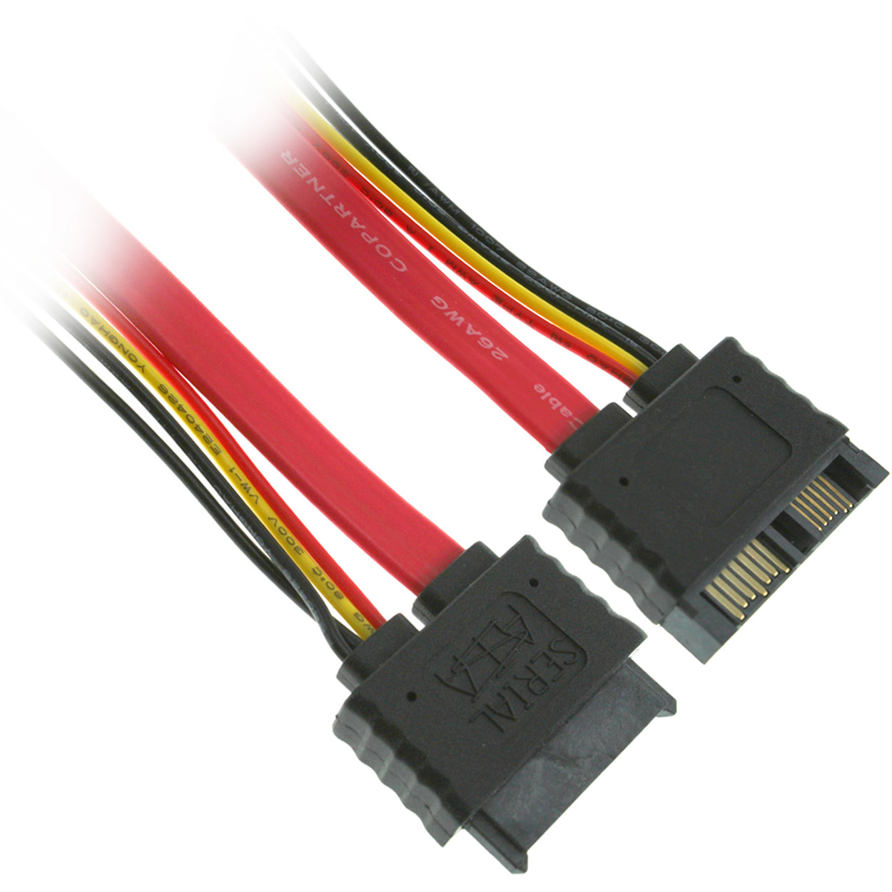 20 inch Micro SATA III Male to Female Extension Cable (for 1.8 inch Micro SATA SSD Drives)