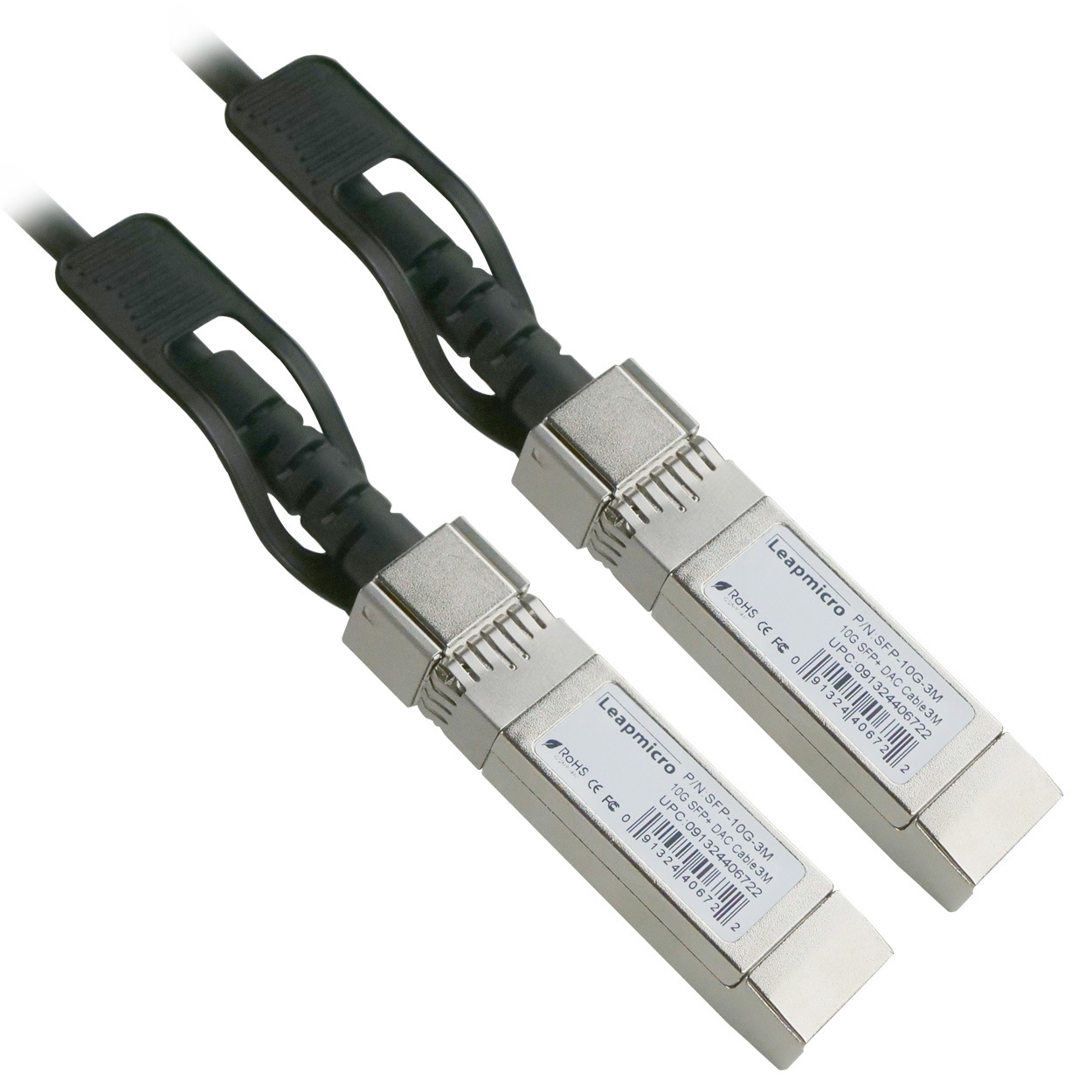 Cisco SFP-H10GB-CU3M Compatible 10GBASE-CU SFP+ Passive Direct Attach Copper Cable 3 Meter, 30AWG