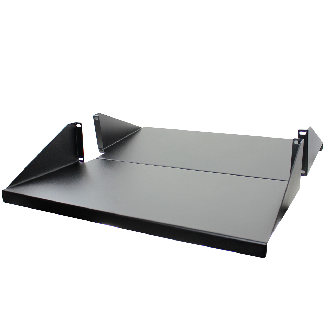 2U Heavy Duty Equipment Shelf for 19 inch Rackmount, Center Weight, 3.5