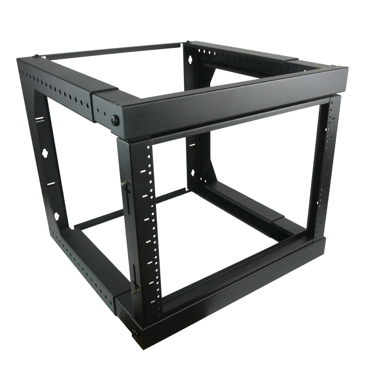 12U Swing-Out Wall Mount Rack Adjustable Depth