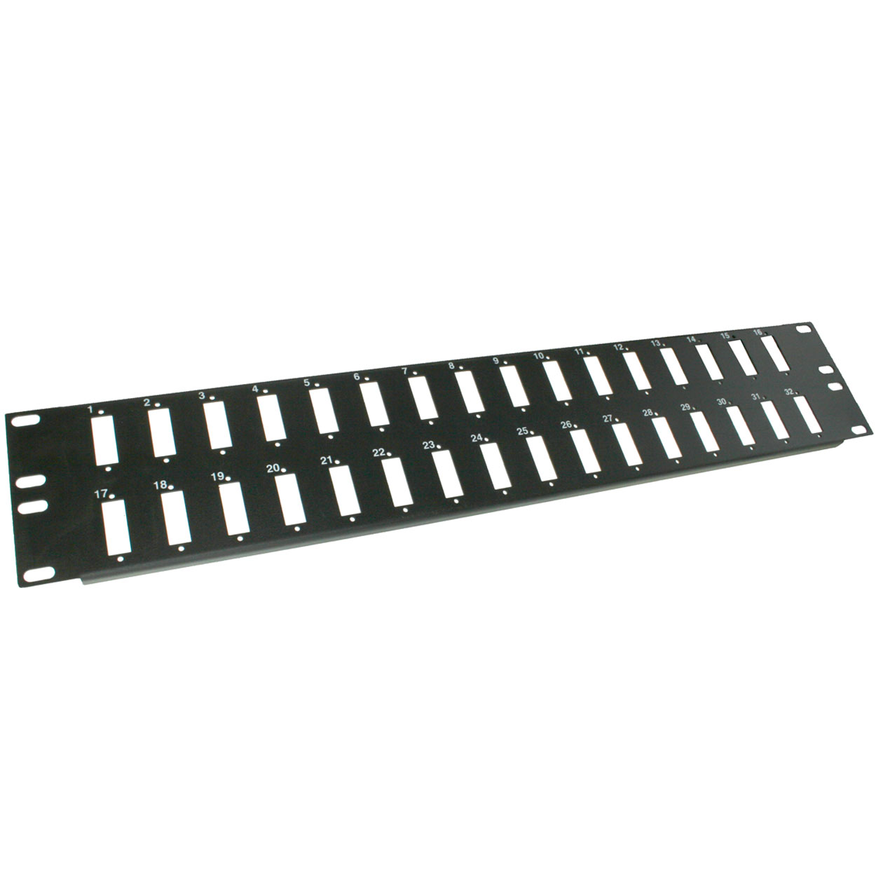 2U 32 Port SC / ST Duplex Unloaded Fiber Patch Panel