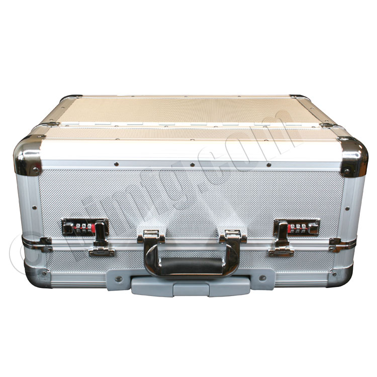 Aluminum Tool Box with Wheels 19 x 8.8 x 14 inches