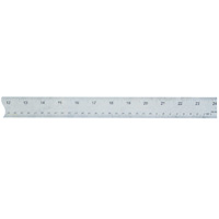 Cork-Backed Stainless Steel Ruler 15inch *150mm