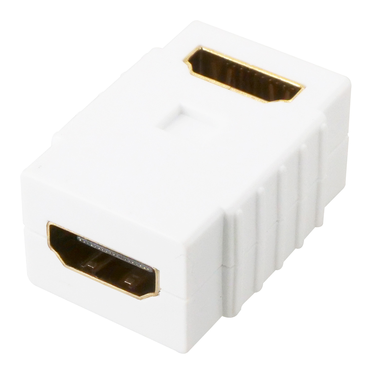 HDMI Coupler Female to Female Right Angle, Flush