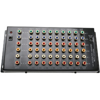 HDTV 9 Port Audio Video Distribution Amplifier, Component RGB, Composite RCA Audio, and Digital Audio