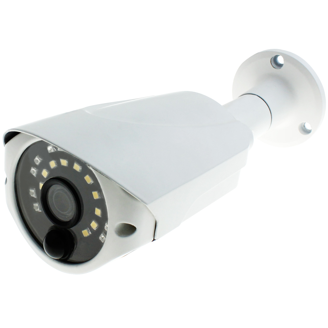 2.1MP HD-TVI Bullet Camera, 3.6mm Lens with Built-in Motion Sensor White LED (PIR Sensor)