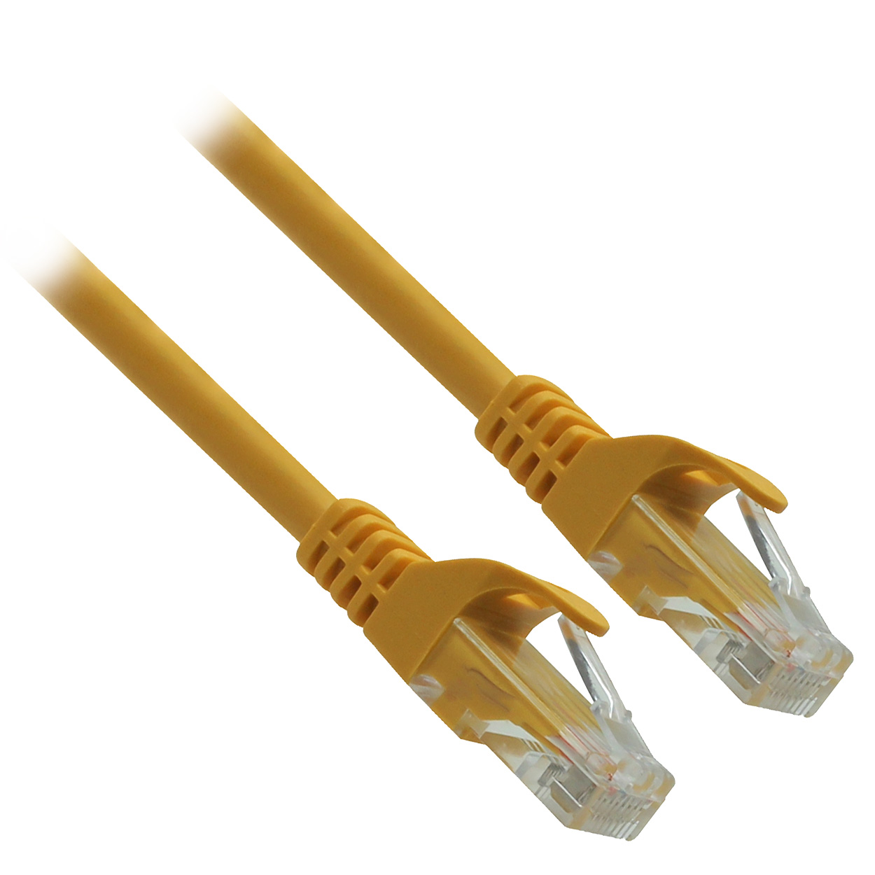 5ft 24AWG Molded UTP Cat6 Network Cable - Yellow