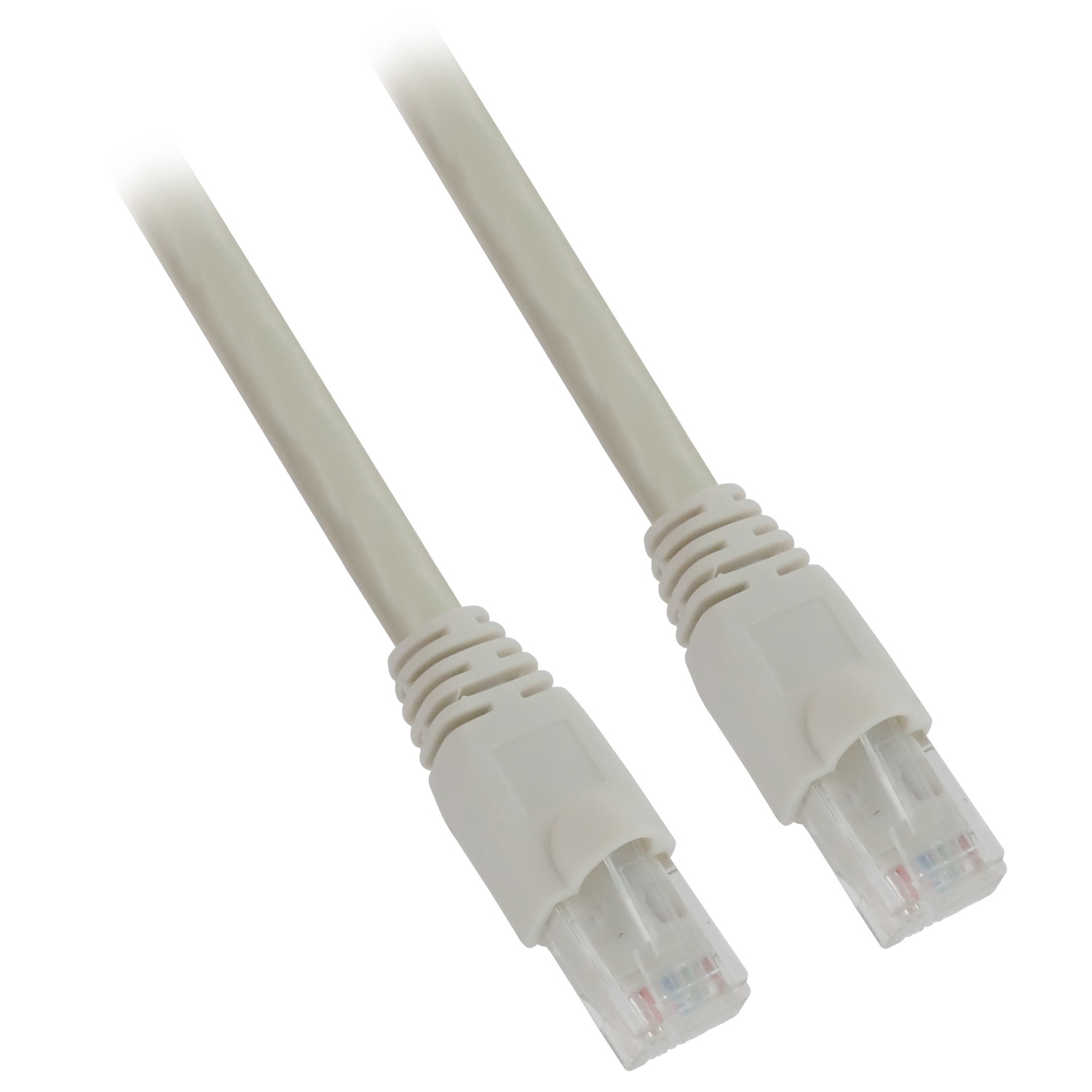25ft 24AWG Molded Cat6a Network Cable - Gray