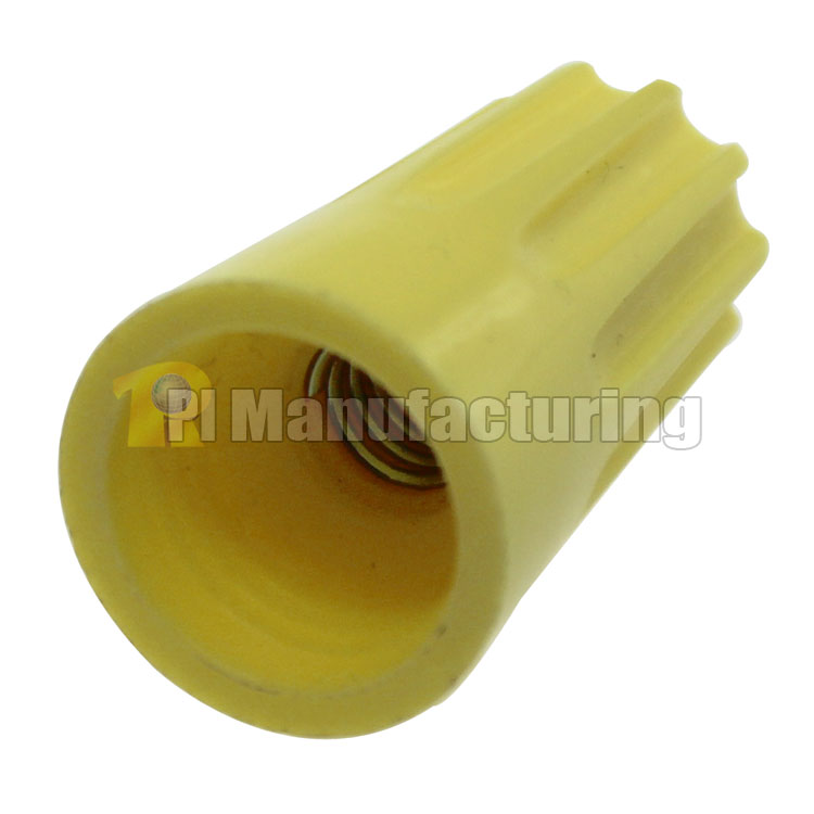 Screw Type Wire Cap Connector, 0.98x0.51inch  (24.6x12.8mm), 100 pcs/bag