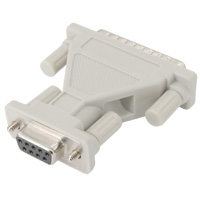 Serial Adapter  DB25 Male to DB9 Female