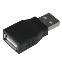Universal Fast Charging USB 2.0 Adapter A Male to A Female