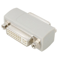 Dual Link DVI-I Female to Female Coupler Adapter