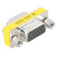 VGA HD15 Female to Female Slim Mini Coupler