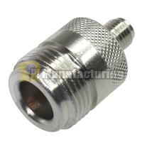 N  Connector Female to SMA Female Adapter