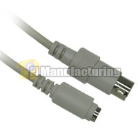 Keyboard adapter cable AT  to Sun Computer , 1ft