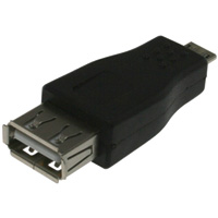 USB A Female to Micro-USB B Male Adapter