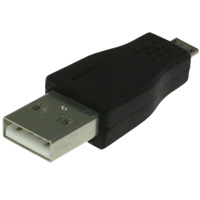 USB A Male to Micro-USB A Male Adapter