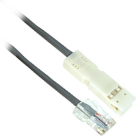 6ft 2 Pair 110 Plus to RJ45 Plus 10 Base-T Cable
