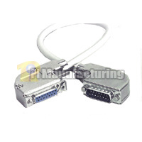 Transceiver Cable Right Angle Type, 2ft