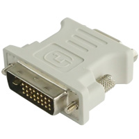 Dual Link DVI-I Male to VGA Female Adapter