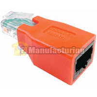 Cat6 Crossover Adapter, RJ45 Male to Female