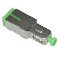 SC APC Fiber Attenuator, 15dB, Male to Female