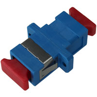 SC-SC Simplex Air Gap Fiber Attenuator, 10dB, 1550nm, Female-Female, Plastic