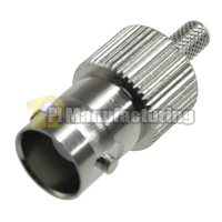 BNC58 Female Connector, Crimping for RG178