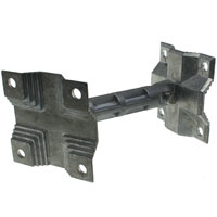 Panel Antenna Bracket for ANT-PA-24-L01, ANT-PA-58-L02, ANT-PA-900-1, ANT-PA-900-2, 74x74x135mm