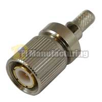 1.6/5.6 Male Crimp Window Connector, for RG400