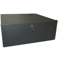 DVR Locker with DC Fan Case Size: 18x18x5 Metal Thickness: 1.2mm