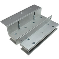 U and L Bracket for Glass Doors for 300 Series Electromagnetic / Magnetic Lock