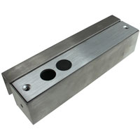 U Bracket for Glass Doors 8 x 2.3 x 1.9 inch for Electric Dead-Bolt Lock