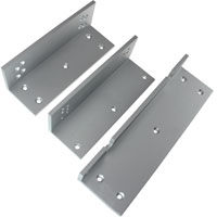 L and Z Bracket for 1200 Series Electromagnetic / Magnetic Lock