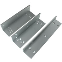 L and Z Bracket for 600 Series Electromagnetic / Magnetic Lock