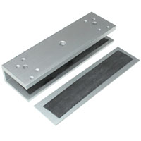 U Bracket for Glass Doors for 300 Series Electromagnetic / Magnetic Lock