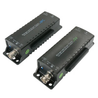 EOC (Ethernet Over Coax RG59 / RG6) Extender up to 500 Meter, Power from PoE Switch