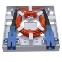 1 Port FTTH Fiber Termination Box, Wall Mount