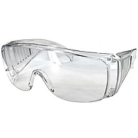 Safety goggles clear lenses, 12 pcs