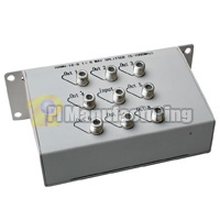 Coaxial Video Splitter, 5-100mhz, 1 in 8 out