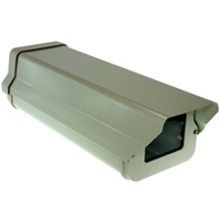 Outdoor Aluminum Camera Housing with Visor, Beige