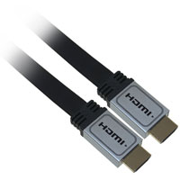 3ft High Speed HDMI Flat Cable with Ethernet - 4K 60Hz