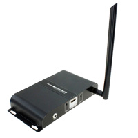 Wireless HDMI Extender Receiver  (Up to 656ft One-to-One at 1080p, Split to More Monitors)