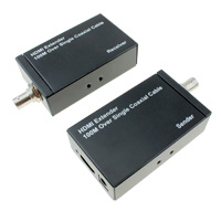 HDMI Extender Over Coaxial Cable (Up to 328 feet at 1080p)