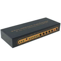3x1 HDMI Switch with Audio Extractor Toslink S/PDIF and L/R Composite Audio, 3D, 4K Support