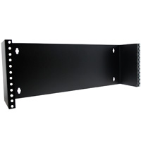 "4U Hinged Wall Mount Bracket  7""x19""x4"""