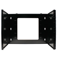 8U Hinged Wall Mount Bracket, Extendable Depth