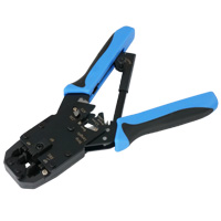 Crimp, Strip and Cut Tool for Plug 8P8C, 6P6C, 6P4C, 6P2C, 4P4C, 4P2C and DEC/OFF Plug 6P6C