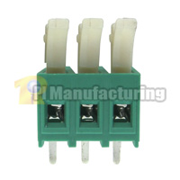 Barrier Type Terminal Block, Pitch: 5mm, Pin: 3